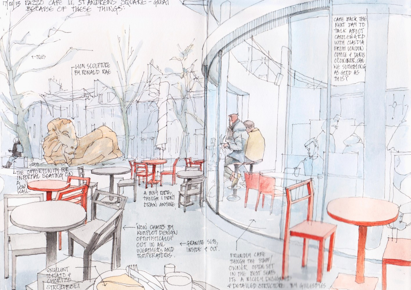 Urban Sketches Sandy S Drawing Room Page 5