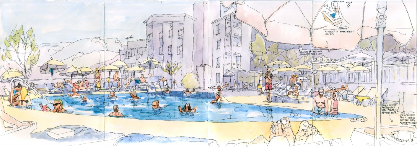 Porto Soller Pool 20 July 2013