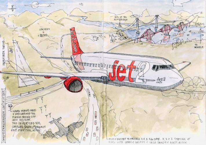 jet 2 to Mallorca 19 July 2013