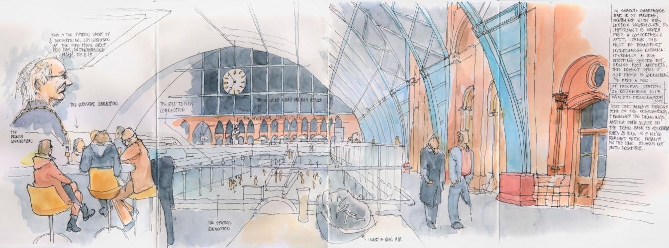St Pancras 27 November 2013