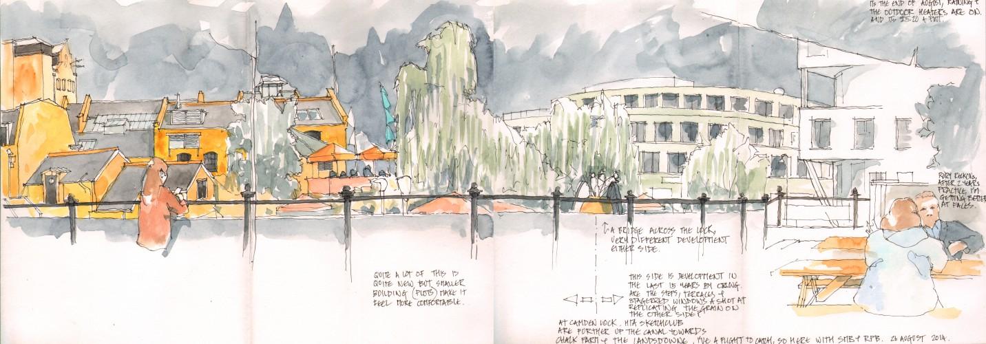 Camden Lock 26 August 2014