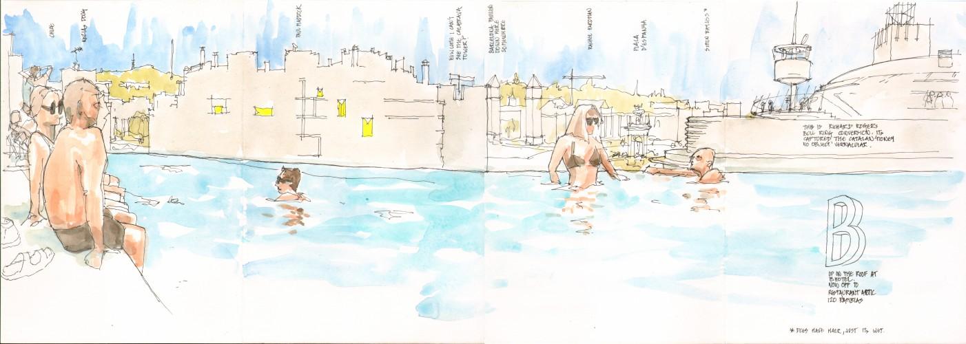 bhotel pool - 140927
