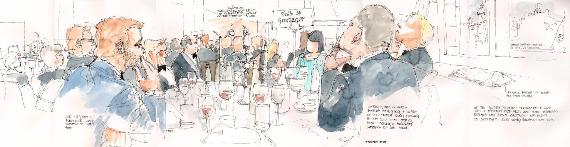 SPF Dinner with Grosvenor - 30 October 2014 a