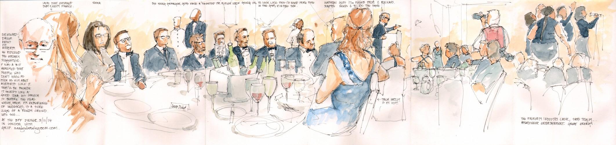 BPF-Dinner 5 November 2014