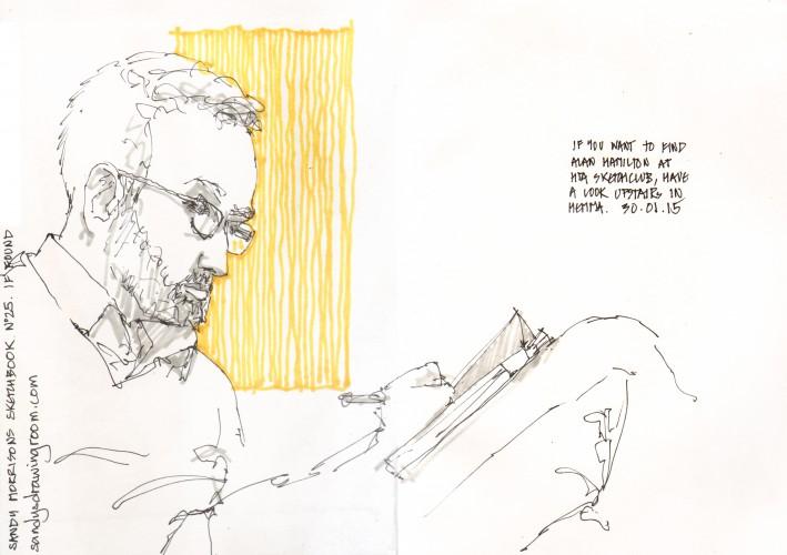 Alan Hamilton - 31 January 2015
