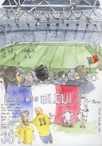 allez les bleu - 23 September 2015