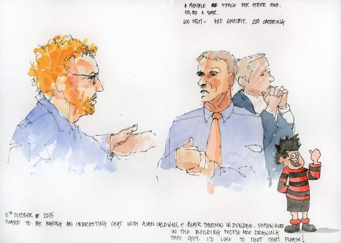 Blair Thomson & Alan Caldwell 5 October 20151