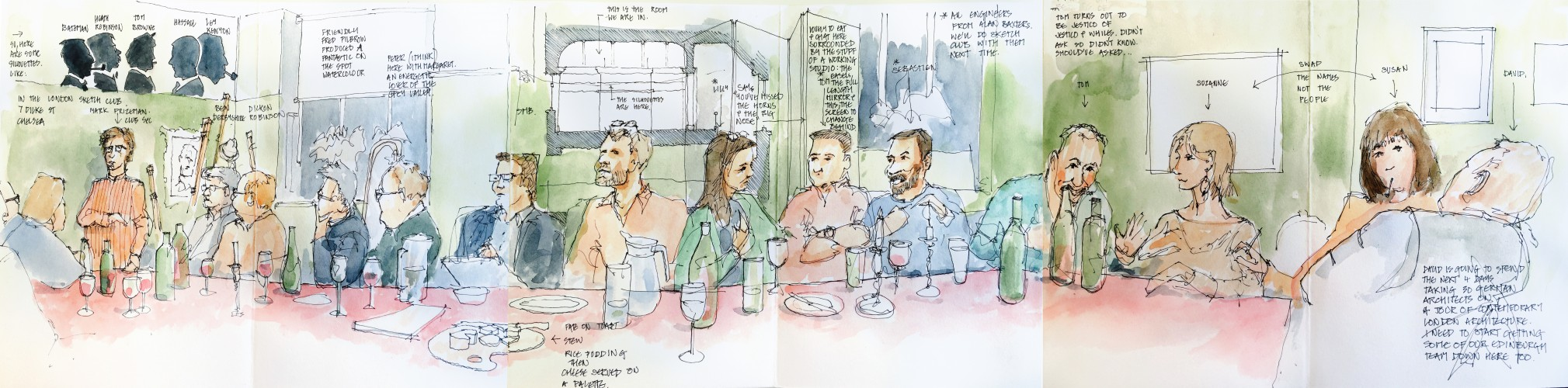London Sketch Club - 30 September 2015