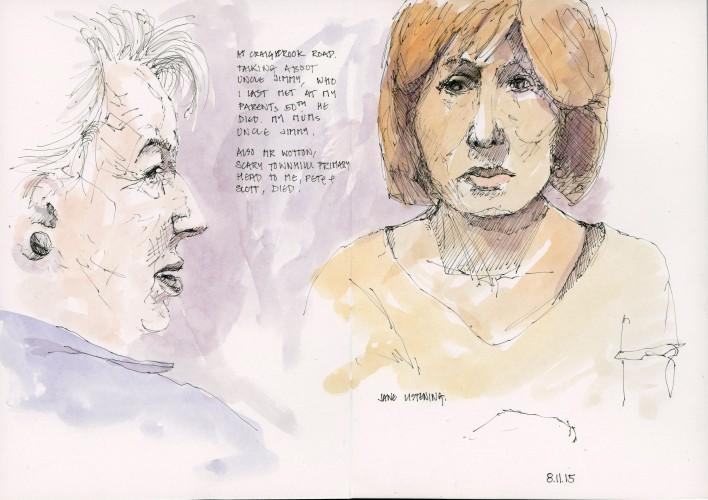 Mum and Jane - 8 November 2015